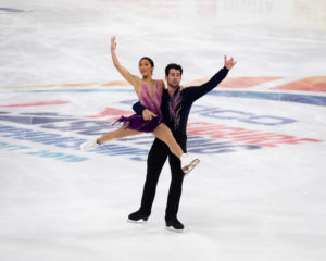 Jessica Calalang and Brian Johnson